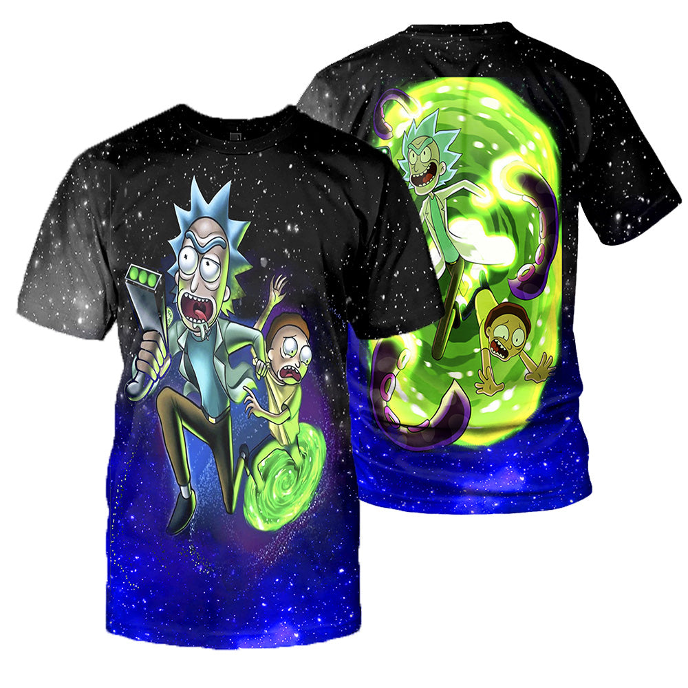 Rick And Morty All Over Printed Shirts For Men & Women 24