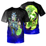Load image into Gallery viewer, Rick And Morty All Over Printed Shirts For Men & Women 24