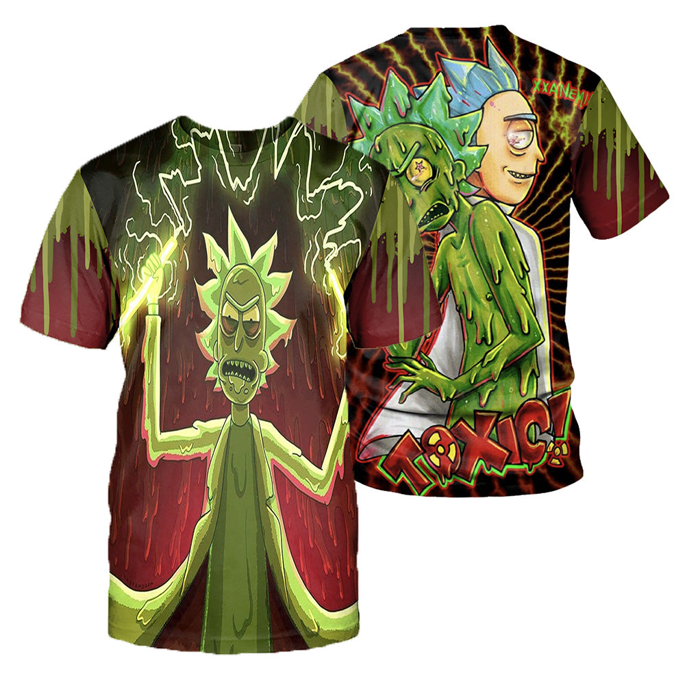 Rick And Morty All Over Printed Shirts For Men & Women 26