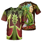 Load image into Gallery viewer, Rick And Morty All Over Printed Shirts For Men & Women 26