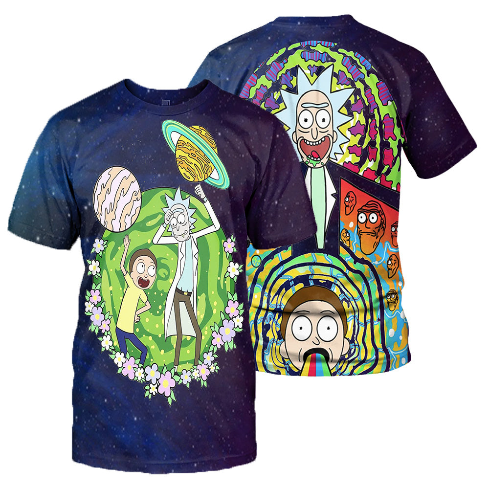 Rick And Morty All Over Printed Shirts For Men & Women 28