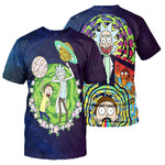 Load image into Gallery viewer, Rick And Morty All Over Printed Shirts For Men & Women 28