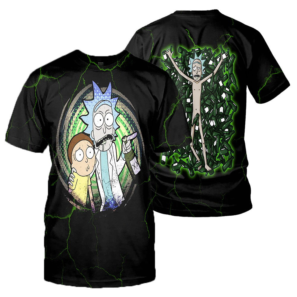 Rick And Morty All Over Printed Shirts For Men & Women 29