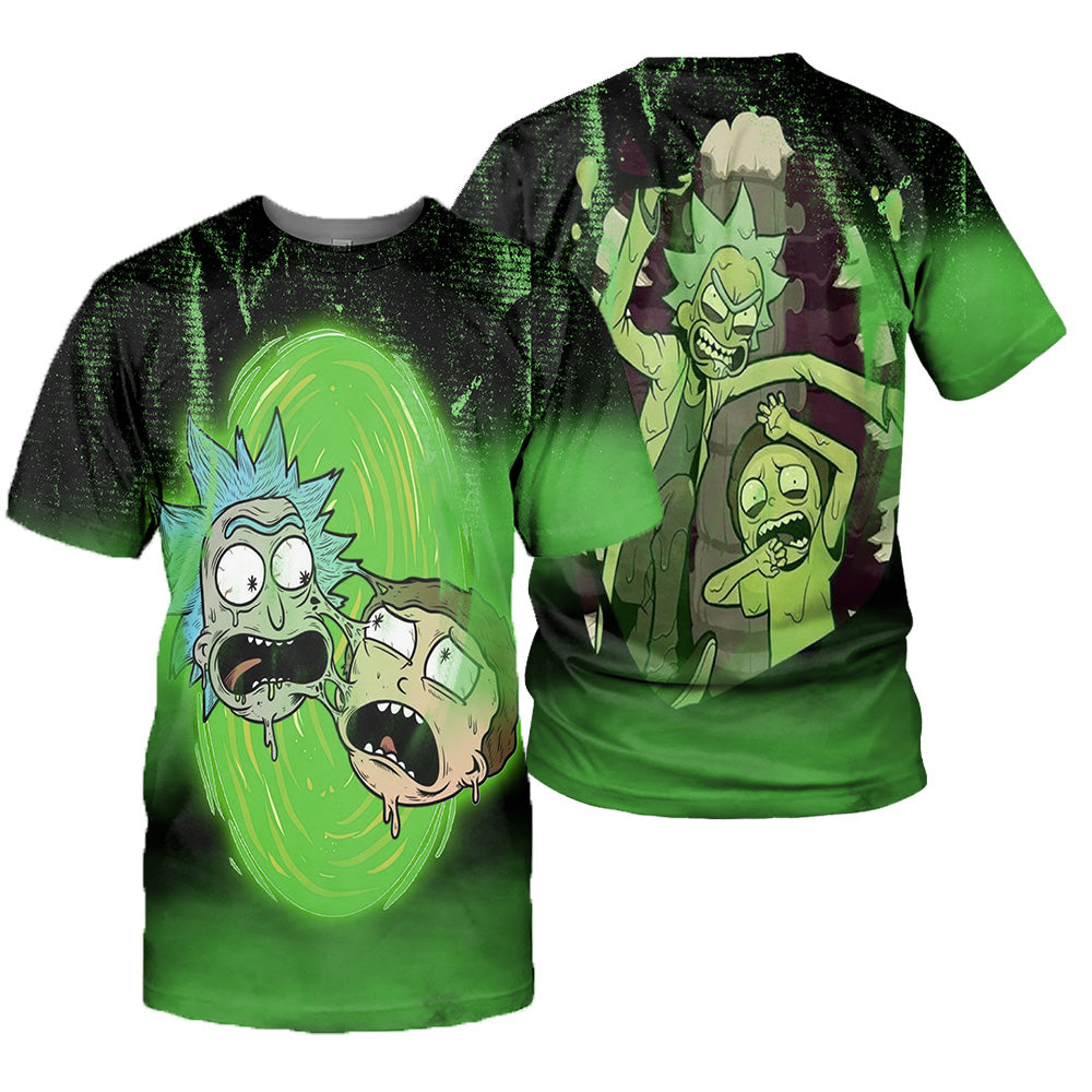 Rick And Morty All Over Printed Shirts For Men & Women 31