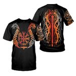 Load image into Gallery viewer, Viking Tattoo 3D All Over Printed Shirts For Men And Women 14