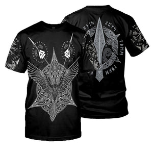 Viking Tattoo 3D All Over Printed Shirts For Men And Women 16