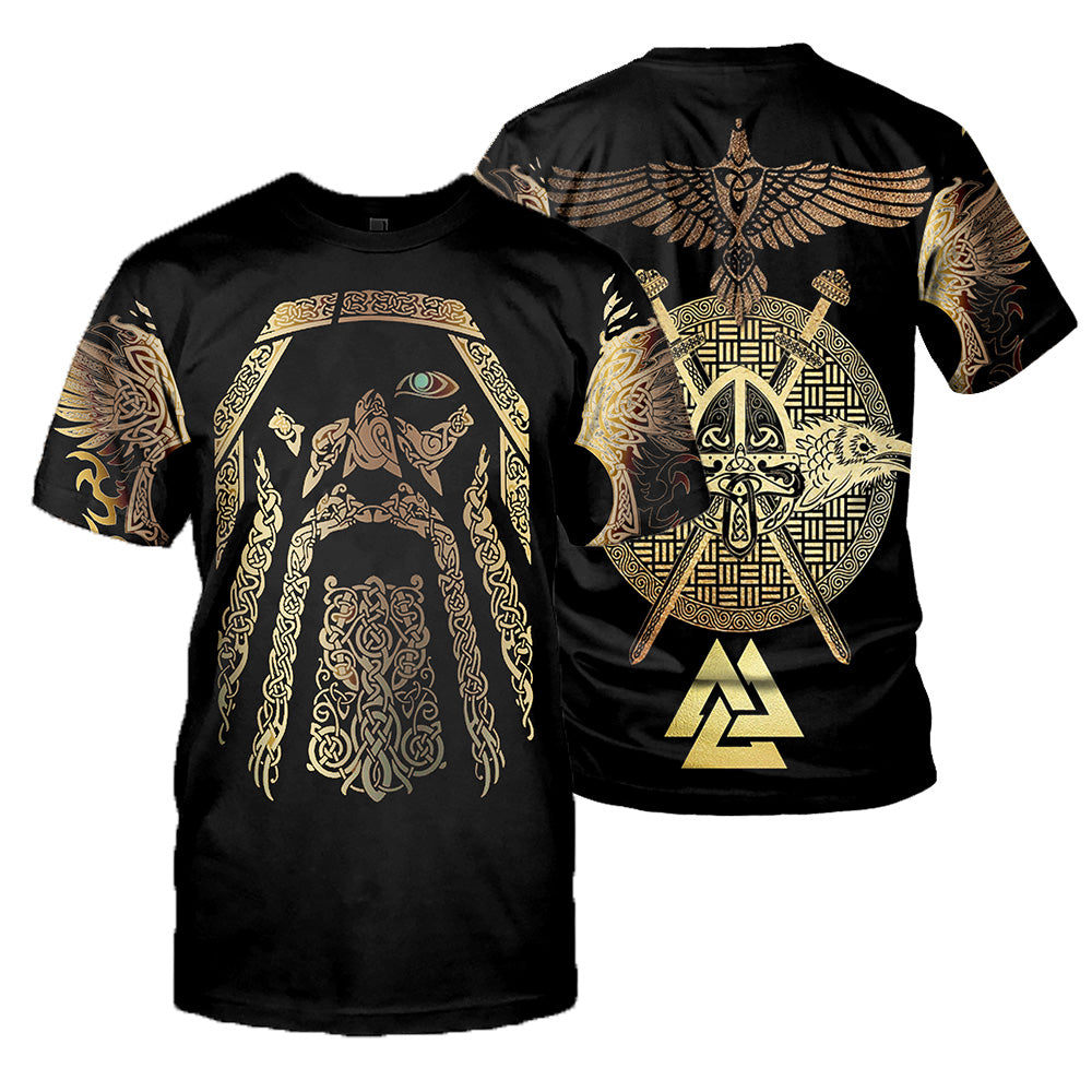 Viking Tattoo 3D All Over Printed Shirts For Men And Women 19