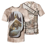 Load image into Gallery viewer, Viking Tattoo 3D All Over Printed Shirts For Men And Women 23
