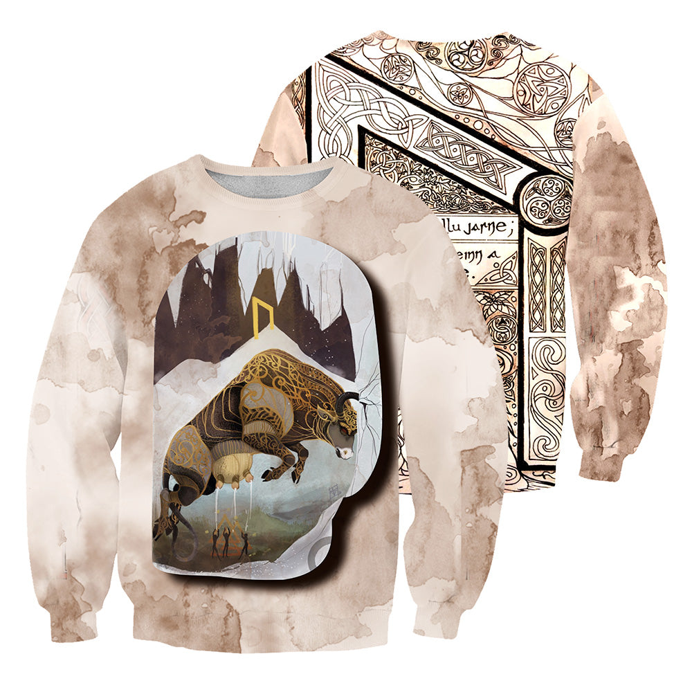 Viking Tattoo 3D All Over Printed Shirts For Men And Women 23