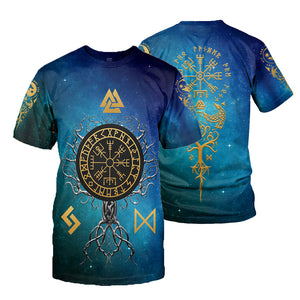 Norse Tree Of Life 3D All Over Printed Shirts For Men And Women 72