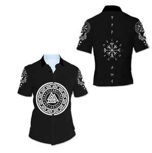 Viking Tattoo 3D All Over Printed Shirts For Men And Women 78