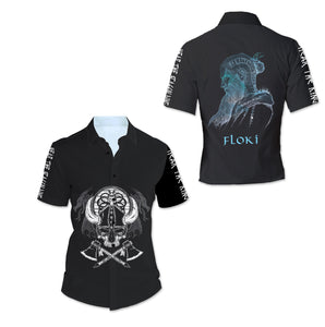 Floki 3D All Over Printed Shirts For Men And Women 79