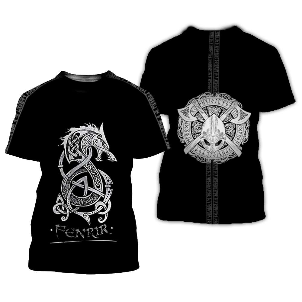 Vikings 3D All Over Printed Shirts For Men And Women 92