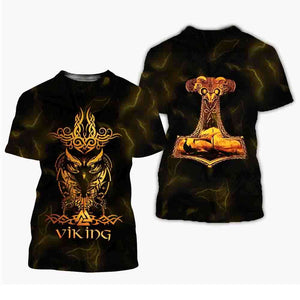Vikings 3D All Over Printed Shirts For Men And Women 93