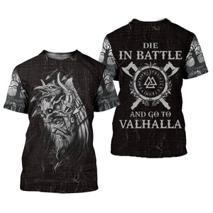 Vikings Tattoo 3D All Over Printed Shirts For Men And Women 111