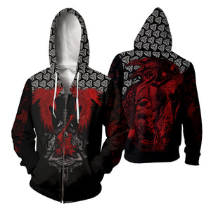 Vikings Tattoo 3D All Over Printed Shirts For Men And Women 122