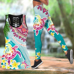 Load image into Gallery viewer, Sea Turtle Women Tank Top & Legging 43