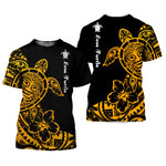 Load image into Gallery viewer, Polynesian Tattoo Sea Turtle 3D All Over Printed Shirts For Men And Women 06