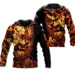 Load image into Gallery viewer, Fire Tiger 3D All Over Printed Shirts For Men And Women 08