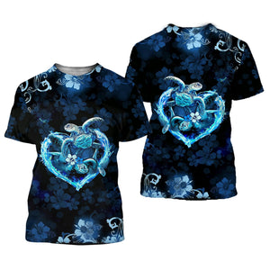 Amazing Sea Turtle 3D All Over Printed Shirts For Men And Women 19