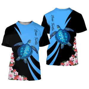 Amazing Sea Turtle 3D All Over Printed Shirts For Men And Women 21