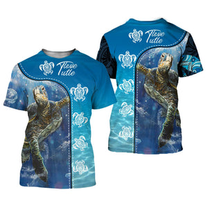 Amazing Sea Turtle 3D All Over Printed Shirts For Men And Women 27