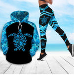 Load image into Gallery viewer, I Love Sea Turtle Hoodie & Legging 59