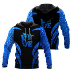 Load image into Gallery viewer, Sea Turtle Blue Rain Combo Hoodie & Legging  66