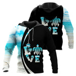 Load image into Gallery viewer, Love Sea Turtle Combo Hoodie & Legging  76