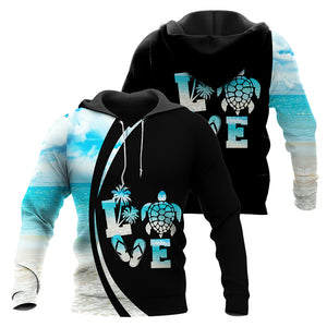 Love Sea Turtle Combo Hoodie & Legging  76