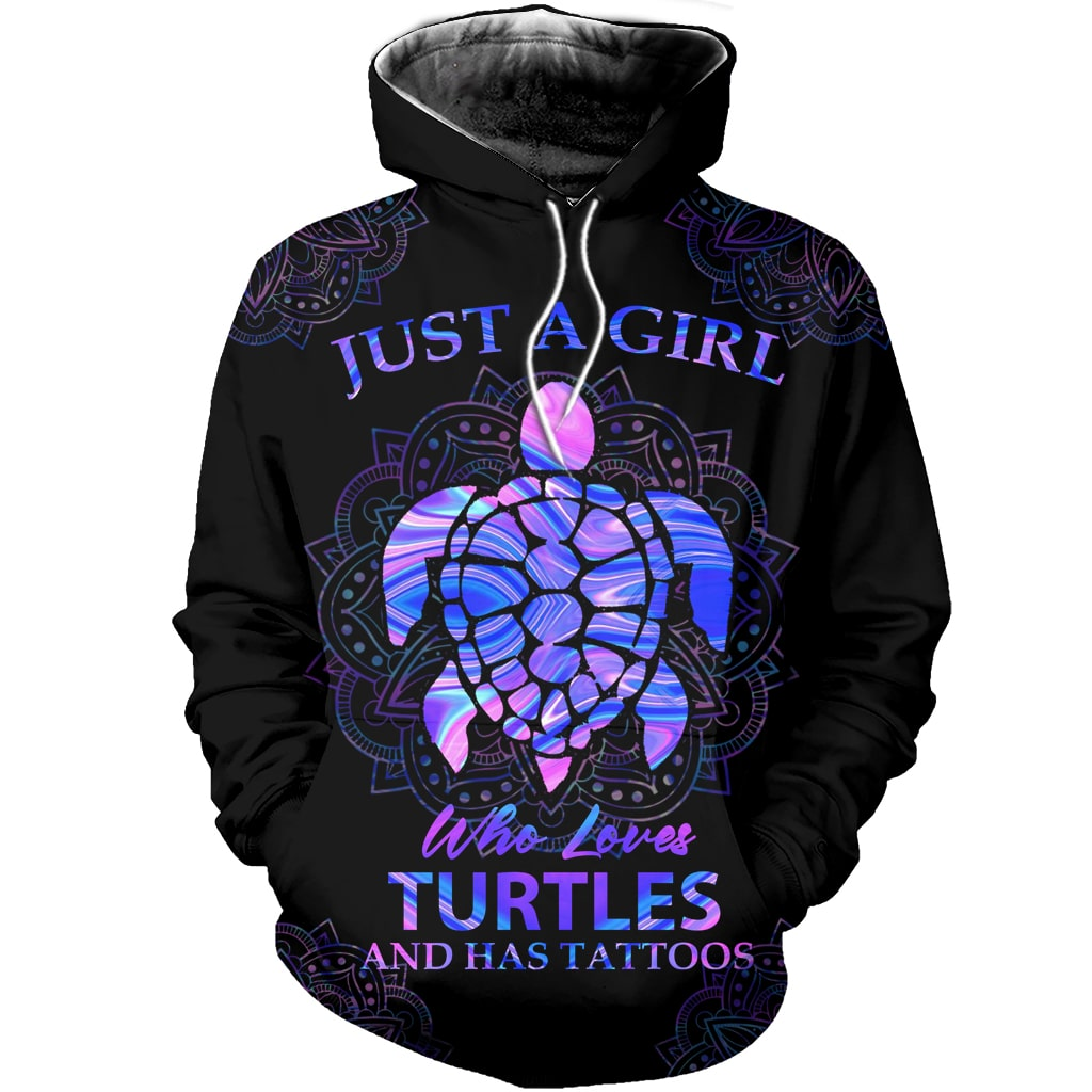 Love Sea Turtle Combo Hoodie & Legging  110