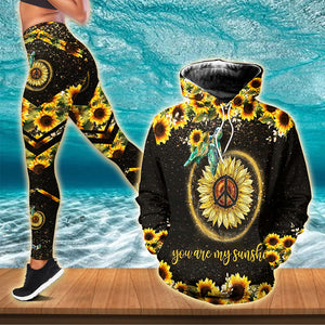 You're Sunshine Turtle Combo Hoodie & Legging  153