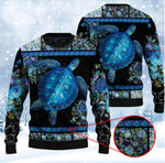 Load image into Gallery viewer, SEA TURTLE WINTER WOOL SWEATER & LEGGING 238