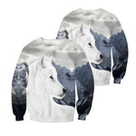 Load image into Gallery viewer, Wolf 3D All Over Printed Shirts For Men And Women 05
