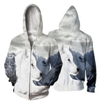 Load image into Gallery viewer, wolf hoodie