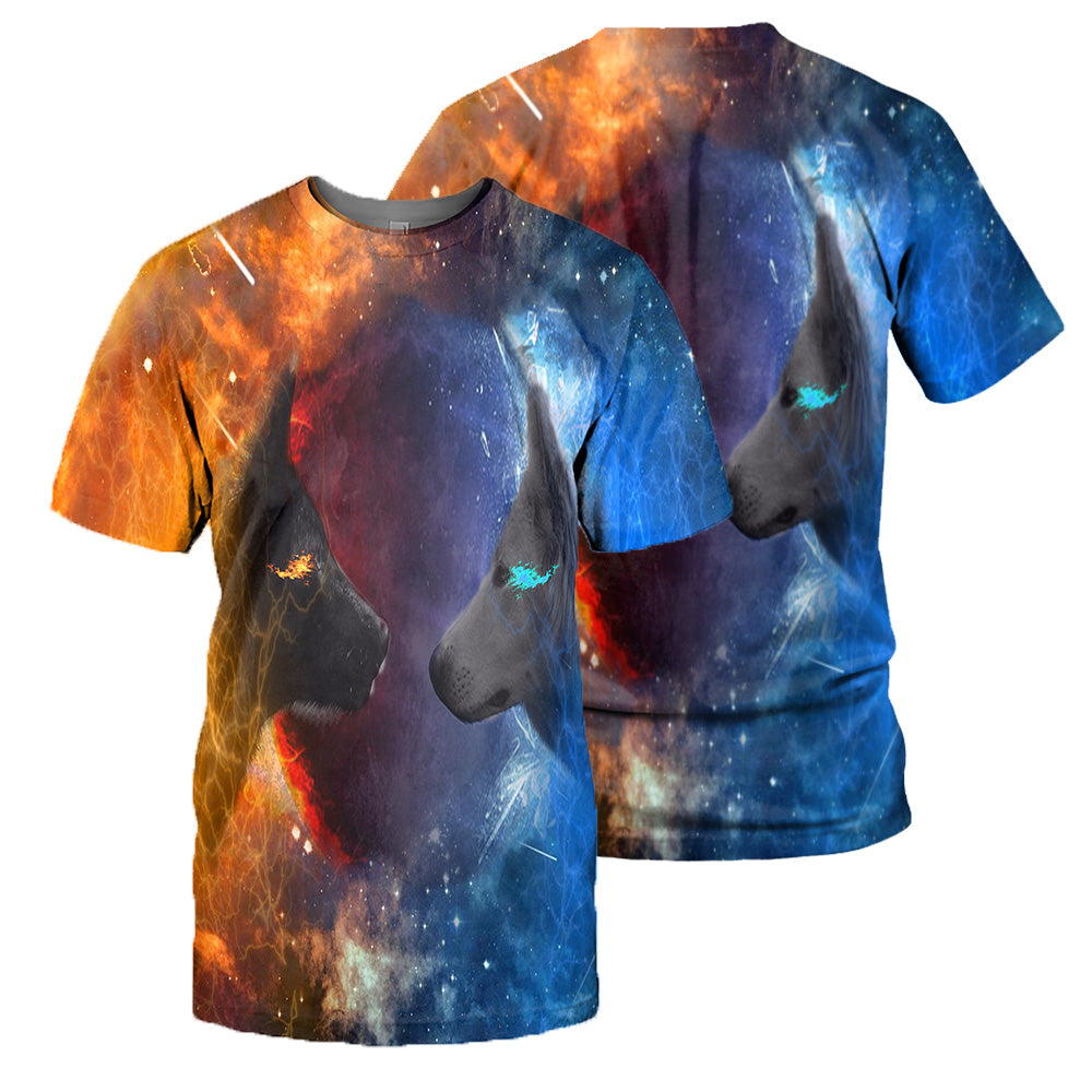 Wolf 3D All Over Printed Shirts For Men And Women 12
