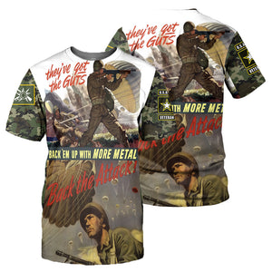 Paratrooper 3D All Over Printed Shirts For Men And Women 12