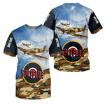 Load image into Gallery viewer, Spitfire 3D All Over Printed Shirts For Men And Women 27