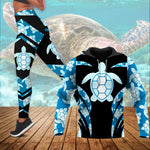 Load image into Gallery viewer, Love Sea Turtle Combo Women Hoodie & Legging  78