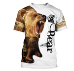 Load image into Gallery viewer, Bear 3D All Over Printed Shirts For Men And Women 02