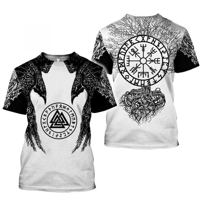 Vikings 3D All Over Printed Shirts For Men And Women 43
