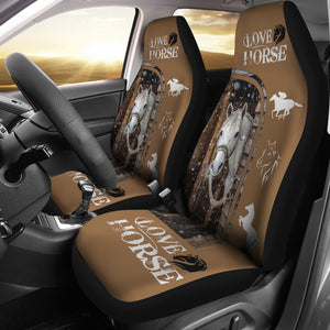 Horse Lover Car Seat Cover 02