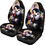 Load image into Gallery viewer, 2pcs The Nightmare Before Christmas Car Seat Cover 21