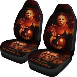 2pcs Michael Myers Car Seat Cover 16