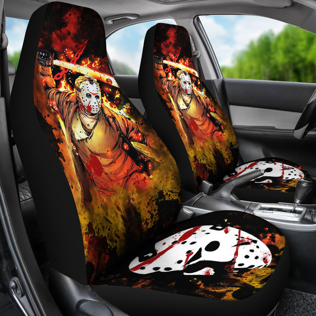 Jason Voorhees Car Seat Cover 06