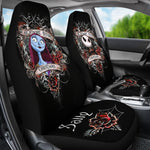 Load image into Gallery viewer, 2pcs Jack Skellington & Sally Car Seat Cover 58