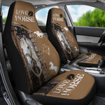 Load image into Gallery viewer, Horse Lover Car Seat Cover 02