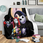 Load image into Gallery viewer, Jack Skellington Premium Blanket  21