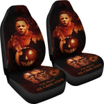 Load image into Gallery viewer, 2pcs Michael Myers Car Seat Cover 16