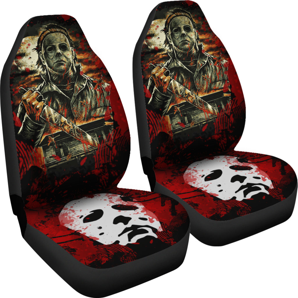 Michael Myers Car Seat Cover 04 Giinter